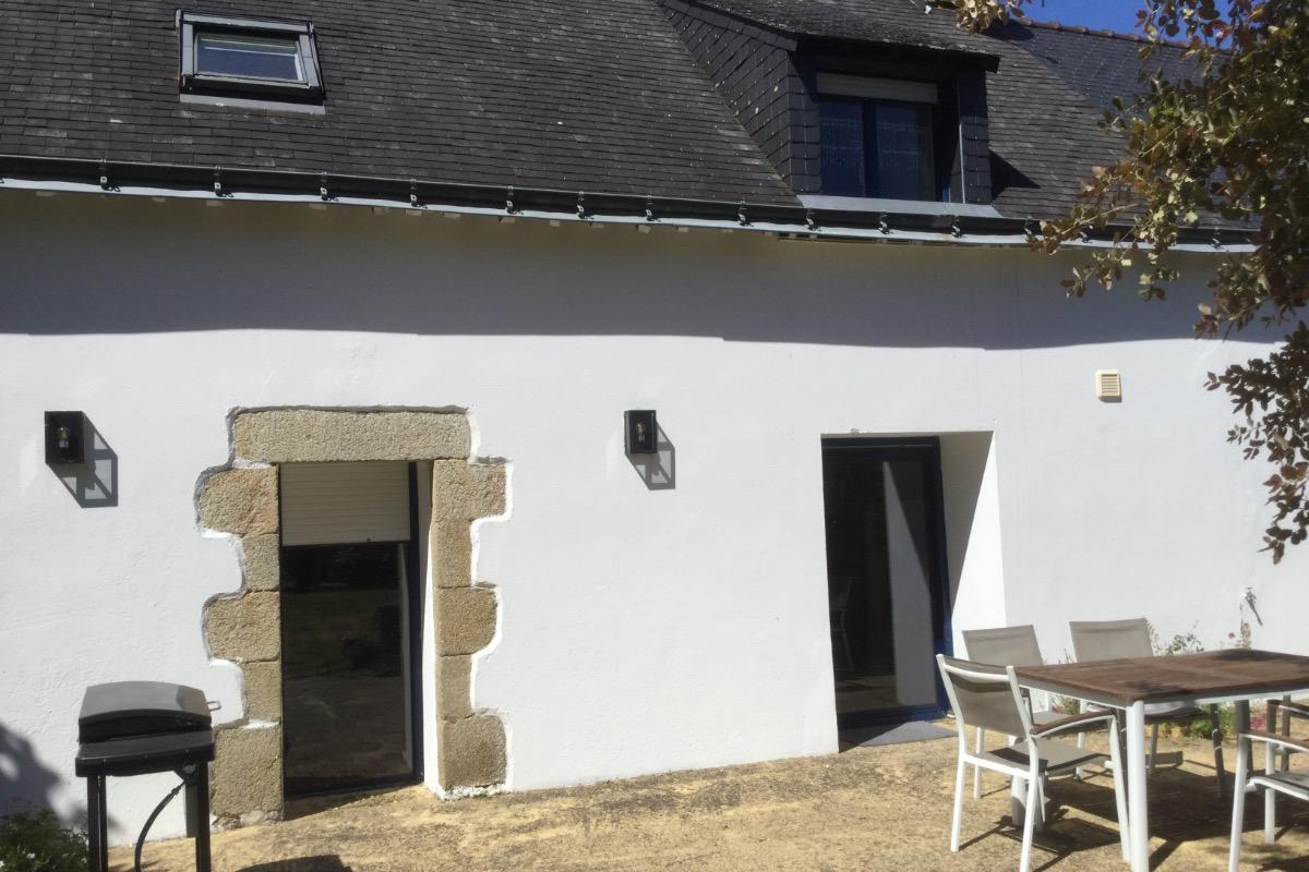 maison au printemps - Location de vacances - Moëlan-sur-Mer