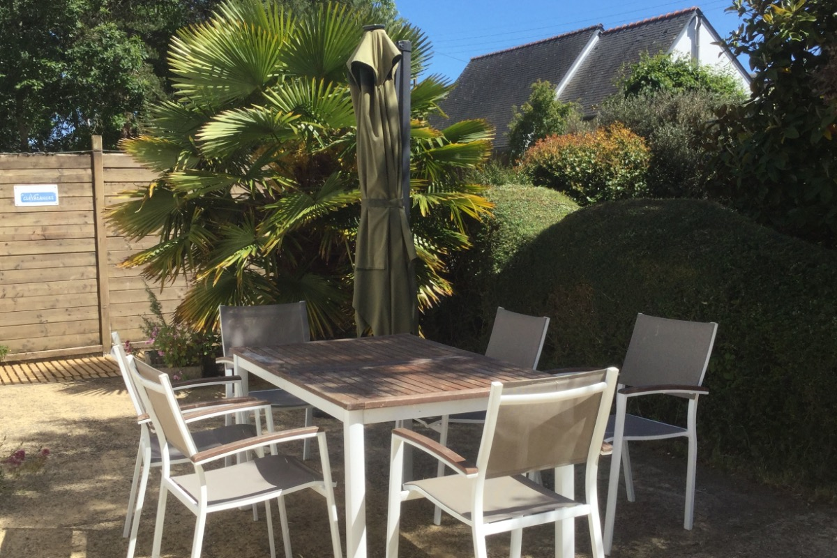 salle  à manger/salon - Location de vacances - Moëlan-sur-Mer