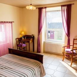La chambre Violette - Location de vacances - Landudec