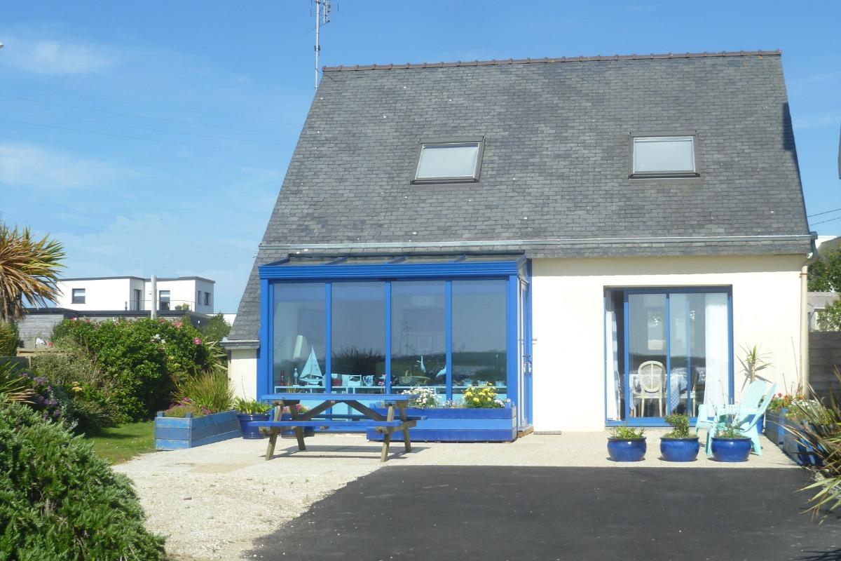 Maison avec vue mer et jardin clos - Location de vacances - Plouguerneau