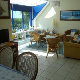 salon séjour - Location de vacances - Plouguerneau