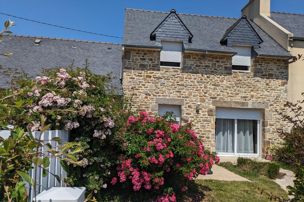 gîte , 4 pers; , jardin au sud, terrasse...  - Location de vacances - Saint-Pabu
