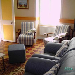 salon - Location de vacances - Landunvez