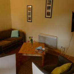 salon  gîte Neiz Bihan  - Location de vacances - Hanvec