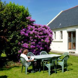 Façade jardin exposée sud - Location de vacances - Douarnenez
