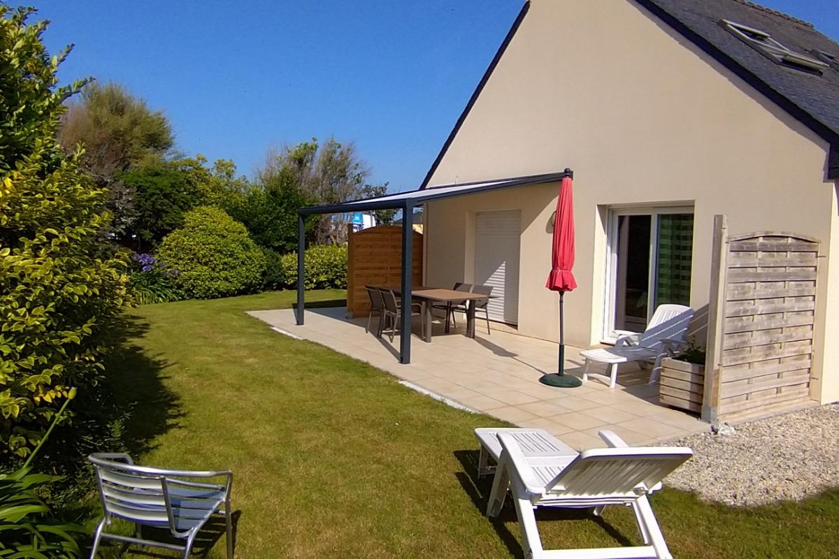 la terrasse - Location de vacances - Lampaul-Ploudalmézeau