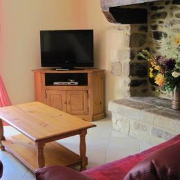 Chambre avec 1 lit 160 - Location de vacances - Douarnenez