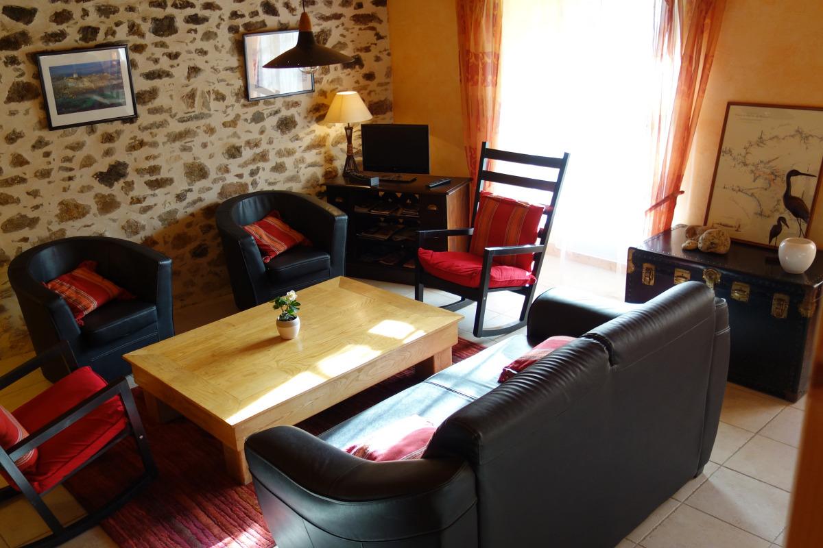 Salon, rez-de-chaussée - Location de vacances - Daoulas