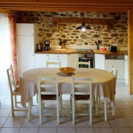 Cuisine aménagée - Location de vacances - Daoulas