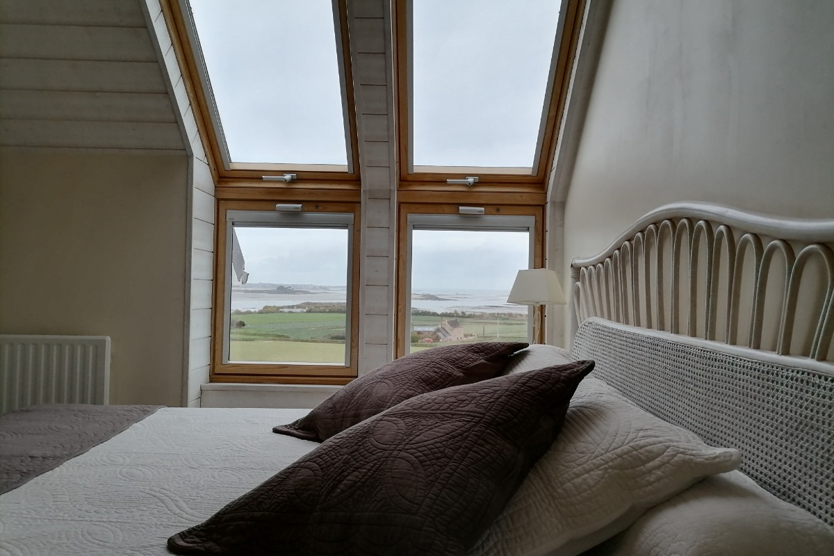 terrasse exposition plein sud - Location de vacances - Carantec