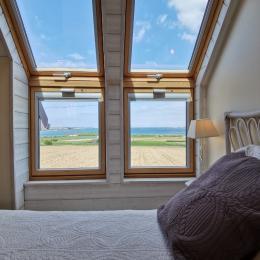vue de la fenêtre du salon  - Location de vacances - Carantec