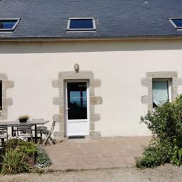 Vue sur mer par beau temps (départ des ferries à Roscoff) - Location de vacances - Carantec