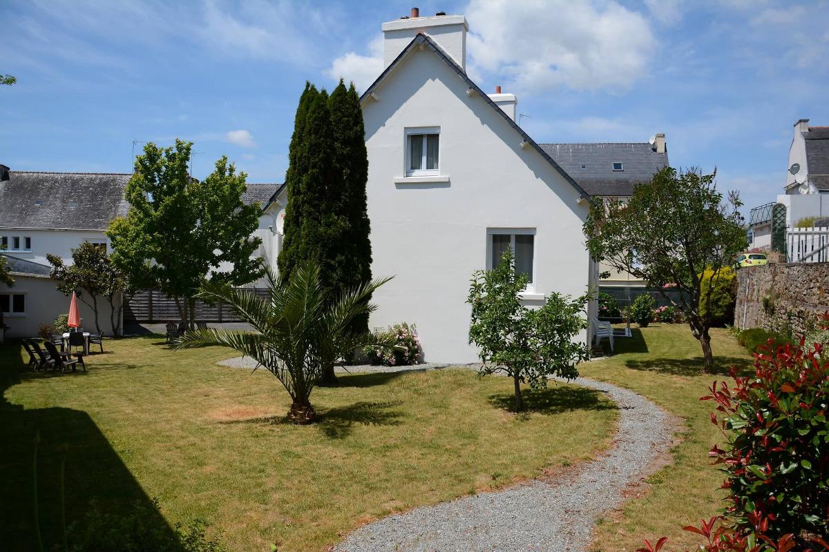 Jardin paisible et abrité - Location de vacances - Bénodet