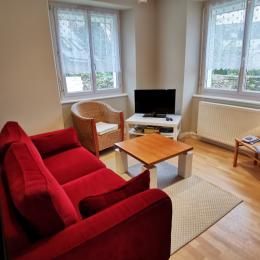 Chambre rez de chaussée, lit 140 - Location de vacances - Bénodet