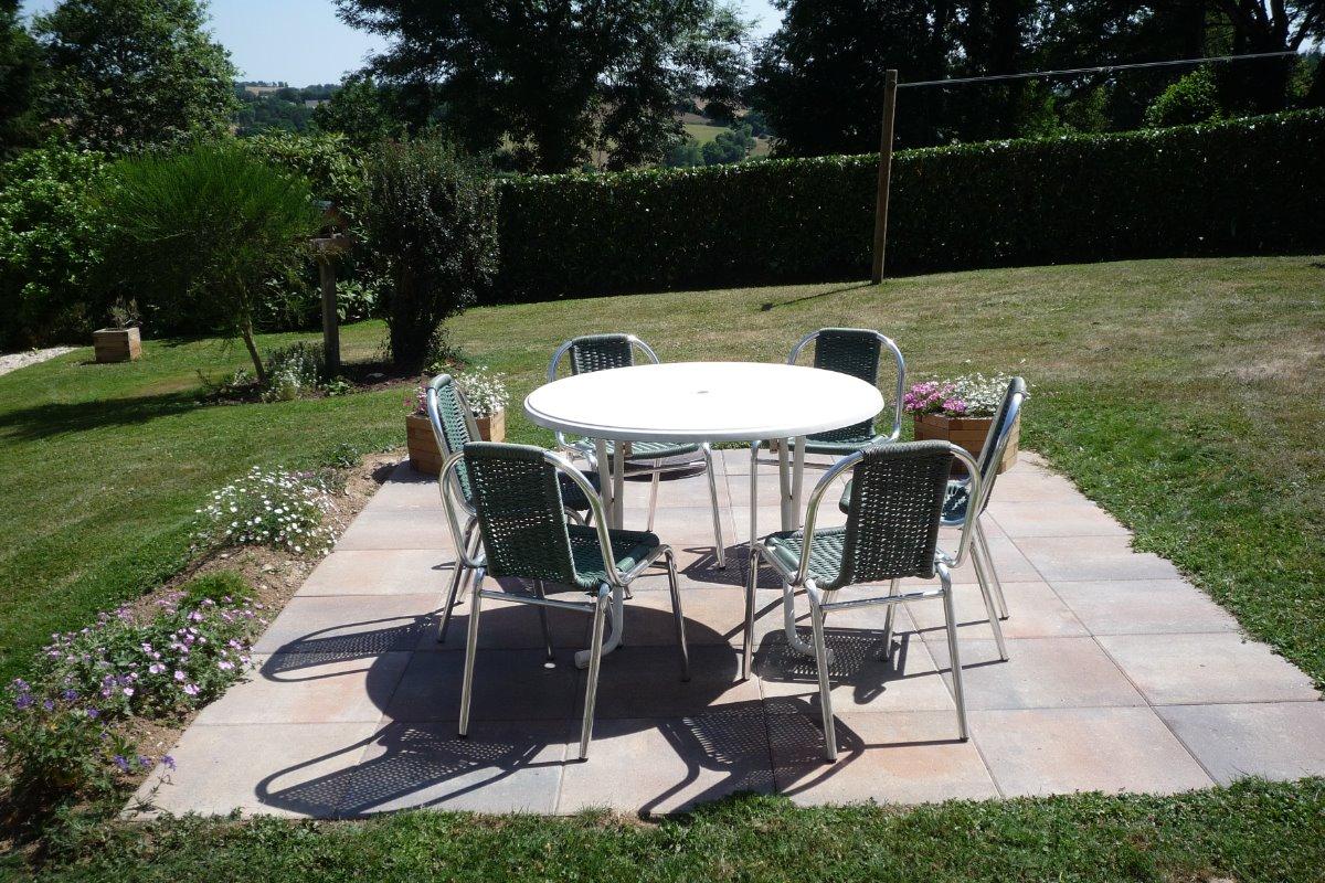 TERRASSE - Location de vacances - Scrignac