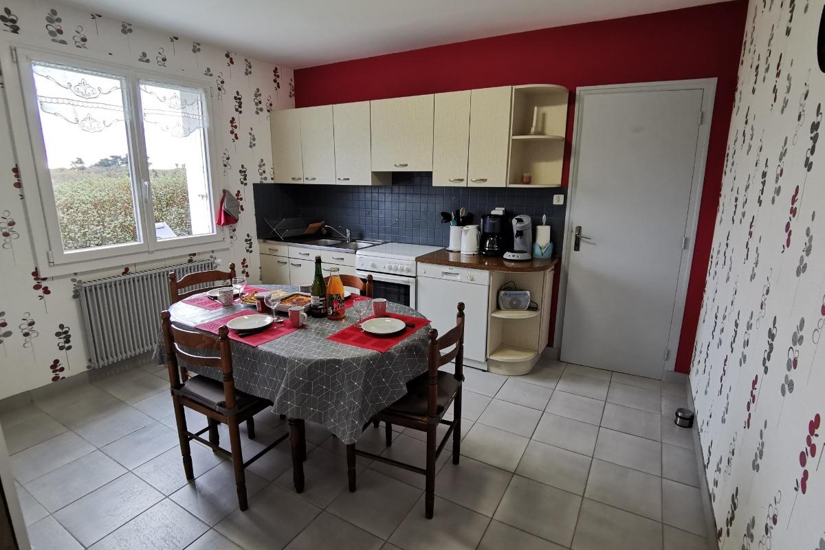 Cuisine équipée - Location de vacances - Beuzec-Cap-Sizun