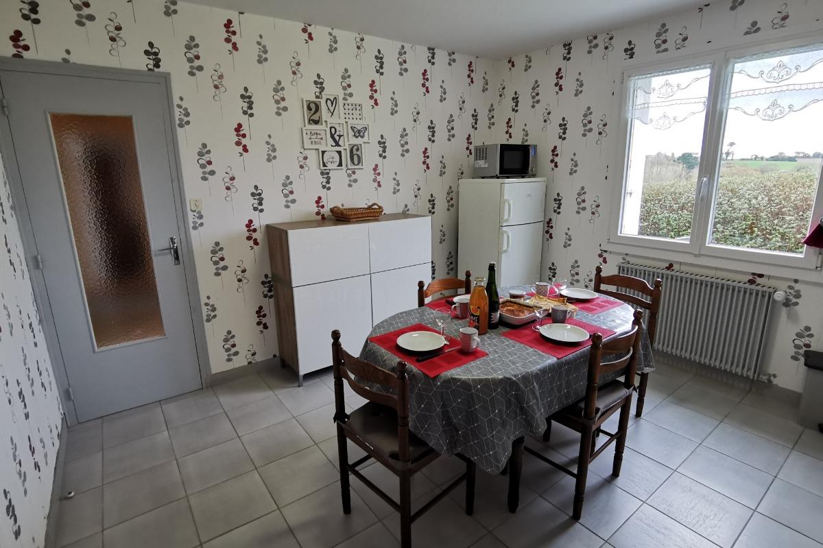 cuisine - Location de vacances - Beuzec-Cap-Sizun