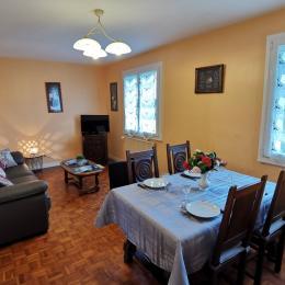 Salle à manger - Location de vacances - Beuzec-Cap-Sizun
