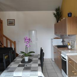 Chambre étage - Location de vacances - Mahalon