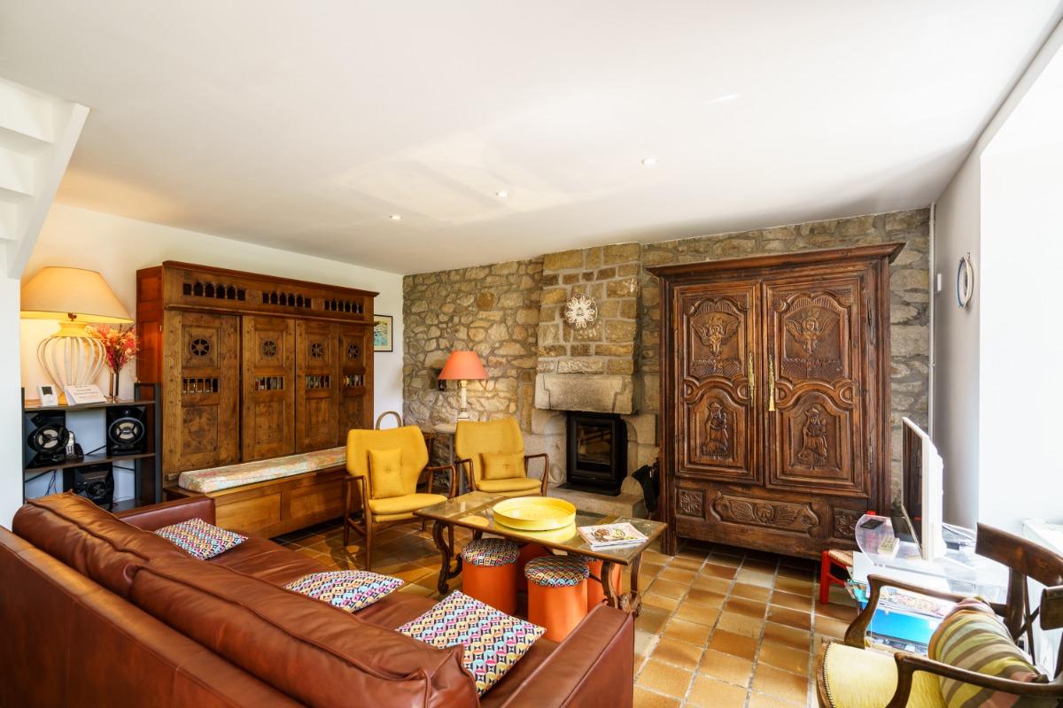 La chambre bleue coté fenêtre - Location de vacances - Audierne