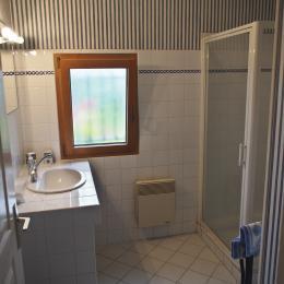 la salle d'eau au rez-de-chaussée - Location de vacances - Névez