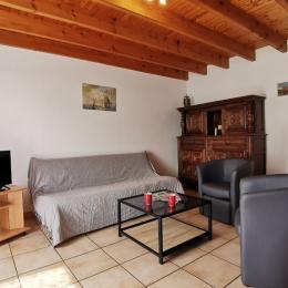 Salon - Location de vacances - Quéménéven