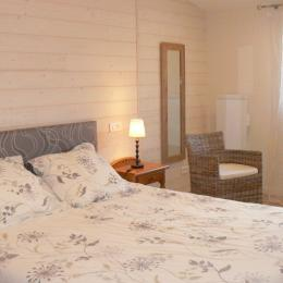 chambre 160x200 rdc - Location de vacances - Plouguerneau