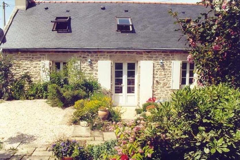 coin jardin avec transats - Location de vacances - Plobannalec-Lesconil