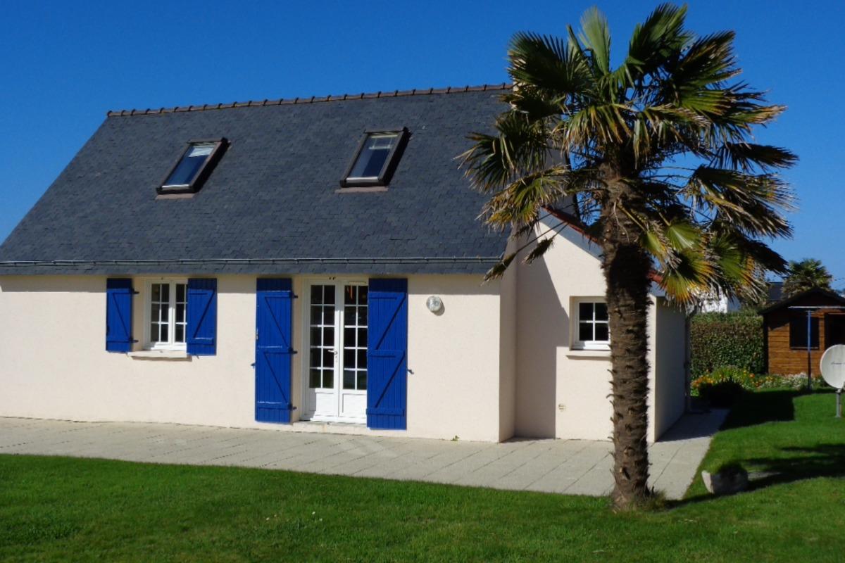 La petite maison bleue - Location de vacances - Ploudalmézeau
