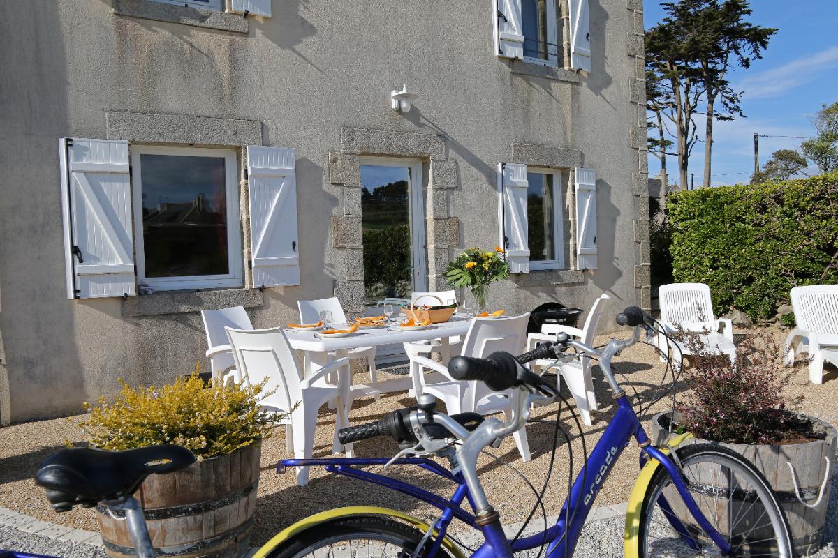Terrasse - Location de vacances - Roscoff