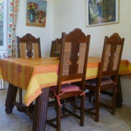 salle à manger - Location de vacances - Châteaulin