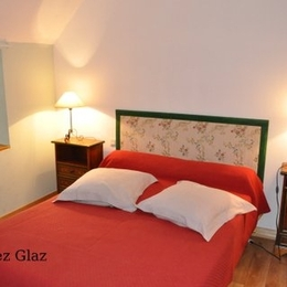 Menez Glaz - Grande chambre double avec salle d'eau indépendante  - Chambre d'hôte - Hanvec
