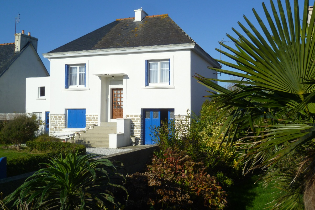 maison avec jardin clos au pied  du phare d'Eckmühl - Location de vacances - Penmarc'h