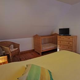 La Chambre jaune sable - Chambre d'hôtes - Loctudy
