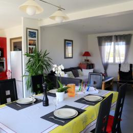 Séjour salon - Location de vacances - Guissény