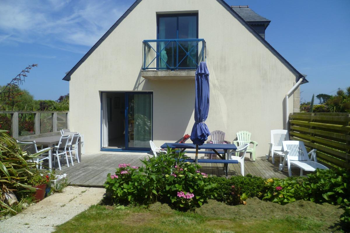 Pignon ouest avec terrasse - Location de vacances - Plouguerneau