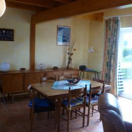 La mezzanine surplombant la salle  - Location de vacances - Lannilis