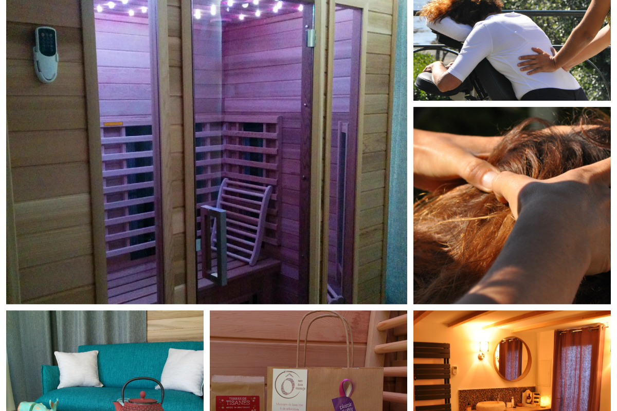 Salon depuis 2014 à Gîtes Drogou, Bretagne, Finistère, Porspoder. - Location de vacances - Porspoder