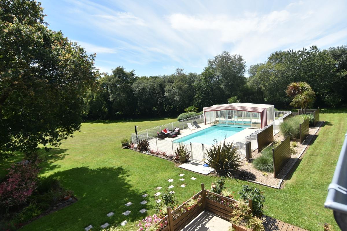 vue d'ensemble - Location de vacances - Saint-Thois