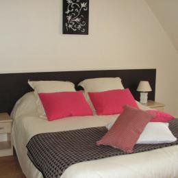 Chambre double étage - Location de vacances - Roscoff