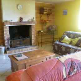 Chambre avec 1 lit 140 - Location de vacances - Scrignac