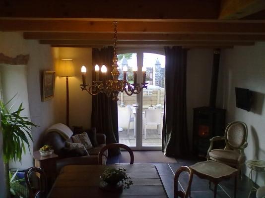La terrasse à l'abri des regards et au calme - Location de vacances - Crozon