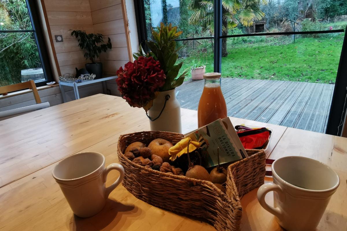 Le pommier Salle à manger - Location de vacances - Fouesnant