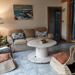 Chambre à l'étage - Location de vacances - Fouesnant