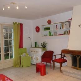 Le salon le soir - Location de vacances - Guilvinec