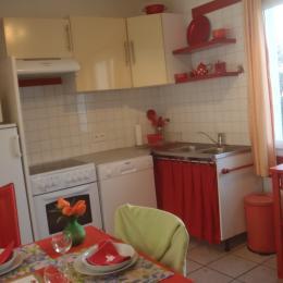 Une partie de la cuisine - Location de vacances - Guilvinec