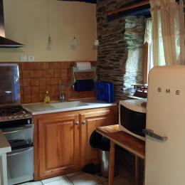 séjour cuisine - Location de vacances - Saint-Thois