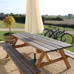 Terrasse + Jardin de 3000m² - Location de vacances - Roscoff