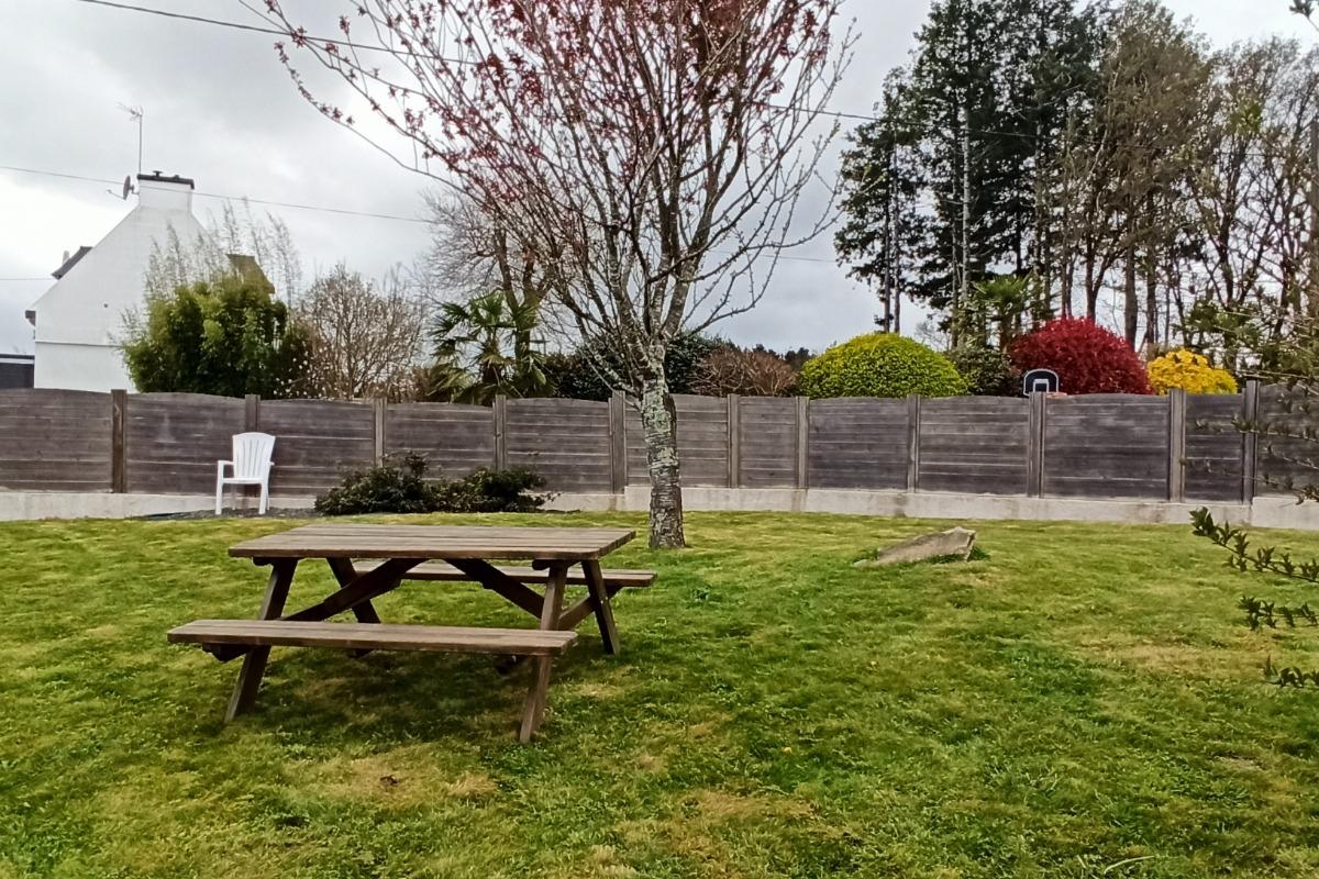 Cuisine indépendante avec accès sur le jardin - Location de vacances - Bannalec