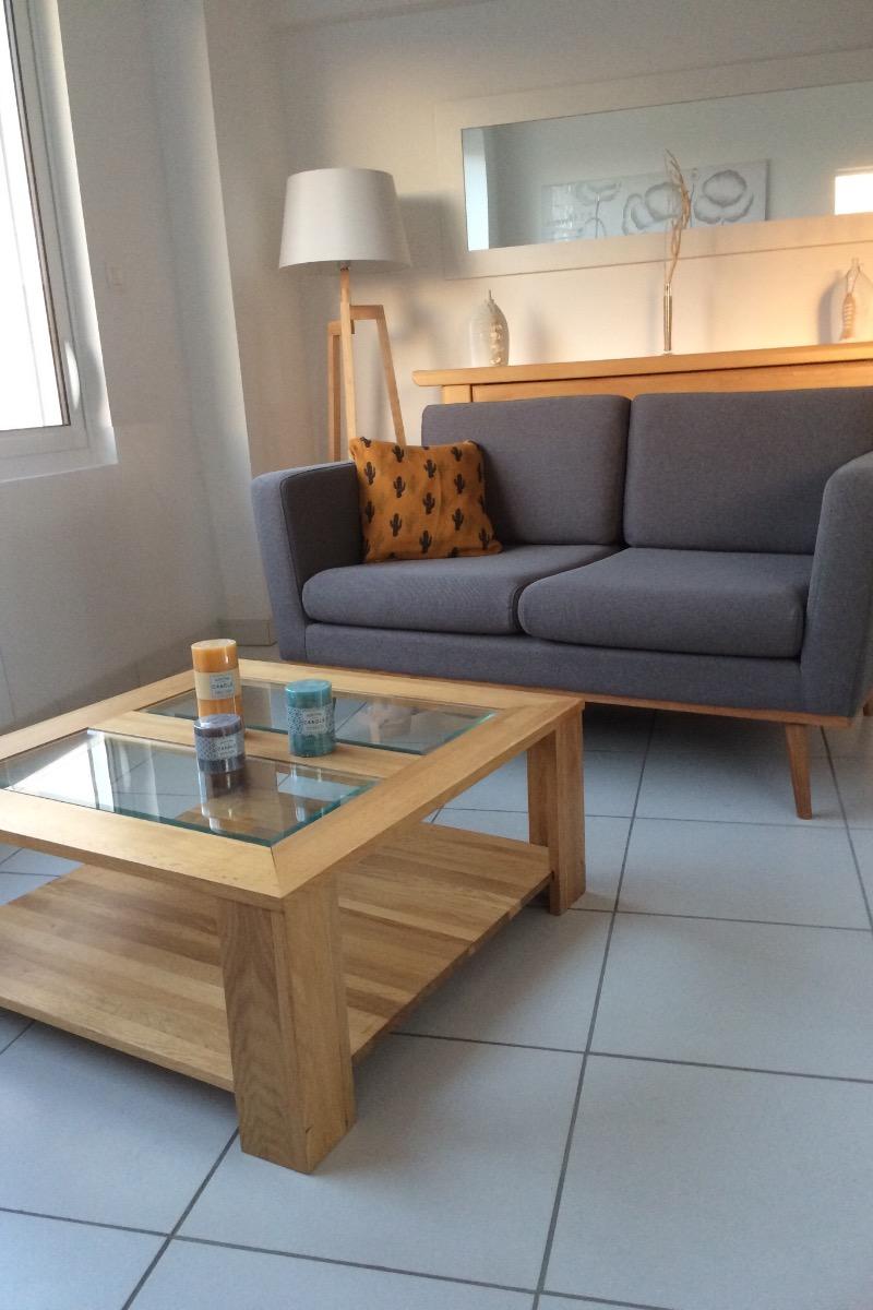 Côté salon - Location de vacances - Landunvez